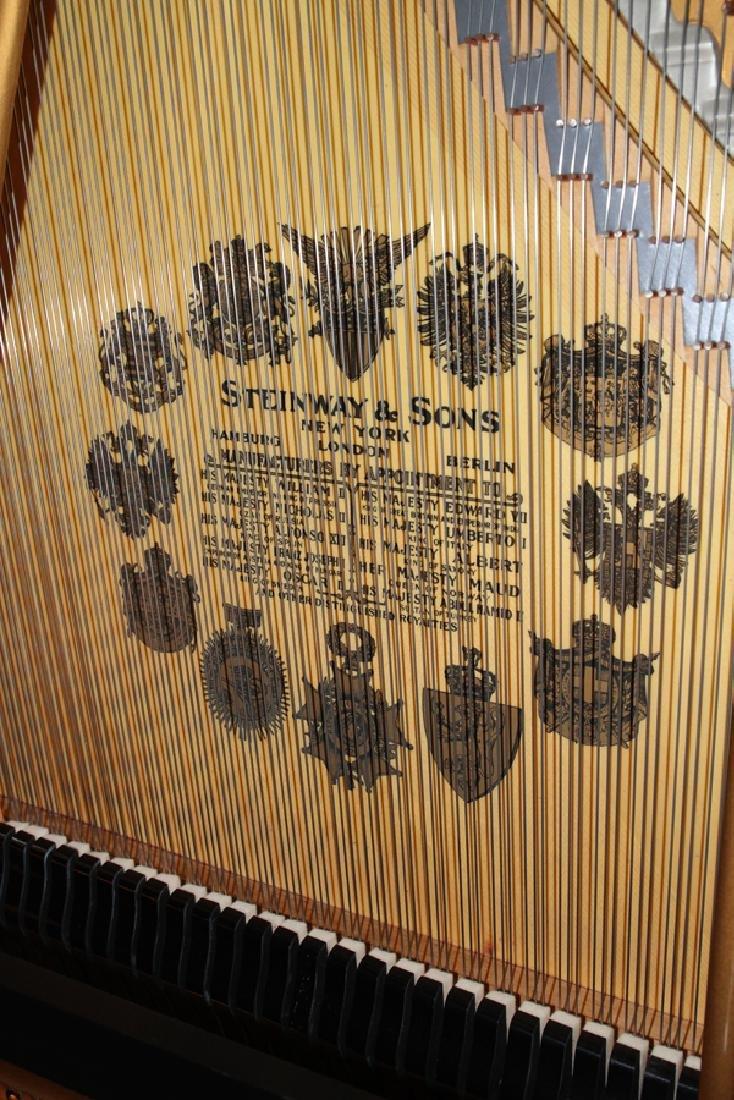 STEINWAY BABY GRAND PIANO L 6' #143880 - 9