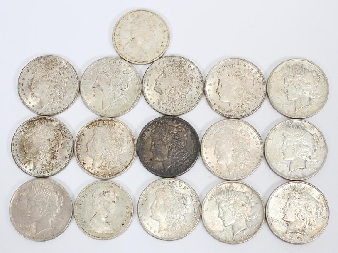 LOT OF  COINS SILVER DOLLARS