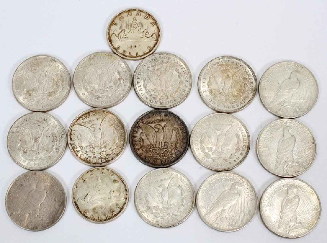LOT OF  COINS SILVER DOLLARS - 2