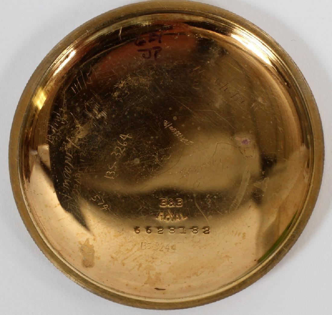 ELGIN RAILROAD GOLD FILLED  POCKET WATCH 21924242 - 6