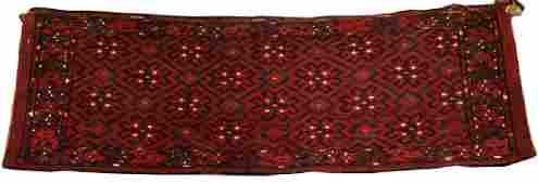 BOKHARA HAND WOVEN WOOL ANTIQUE BAG FACE