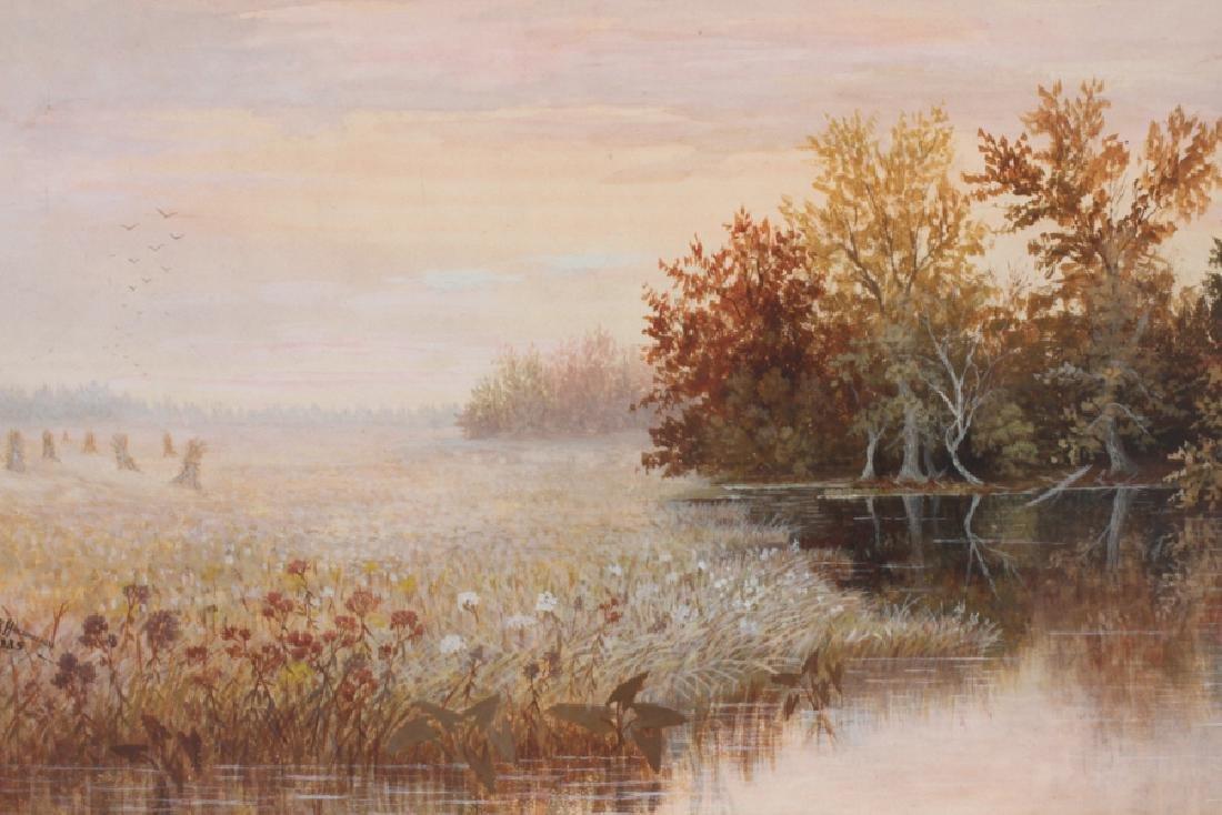 GERARD HARDENBERCH WATERCOLOR 1885 - 2