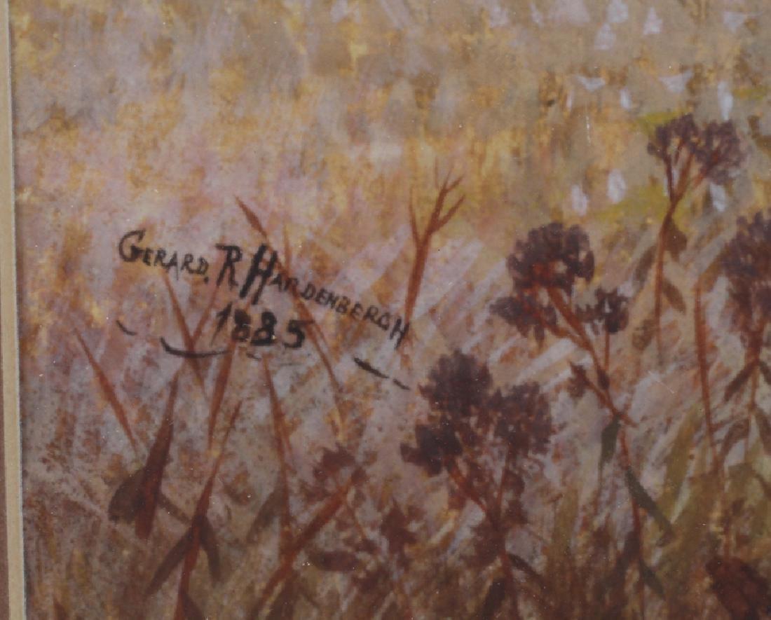 GERARD HARDENBERCH WATERCOLOR 1885 - 3