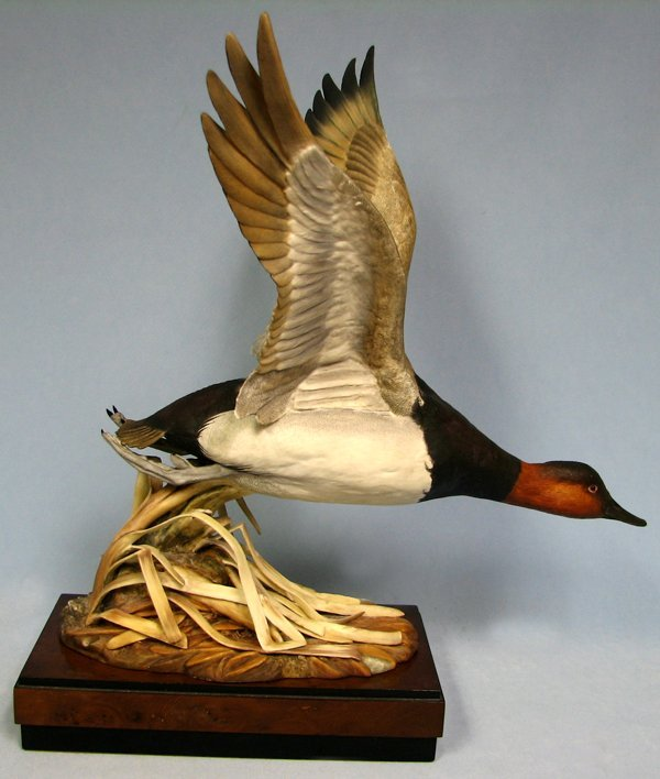 080023: ROYAL WORCESTER BONE CHINA, 'CANVASBACK DUCK'