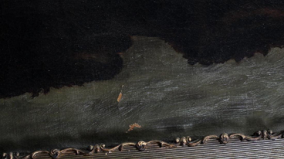 "THEO JOSEPHINE WARD, OIL ON CANVAS, H 27"", W 49"" - 5"