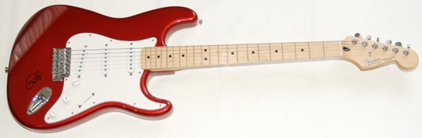 100002: ERIC CLAPTON SIGNED STRATOCASTER GUITAR