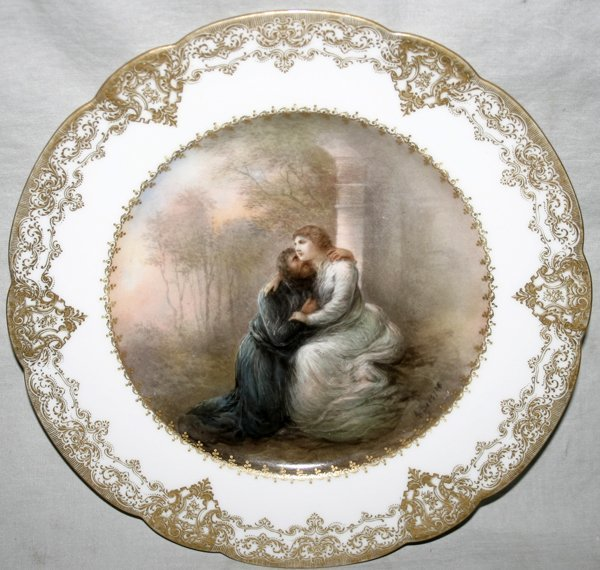 101004: HAVILAND & CO., LIMOGES PORCELAIN PLATE