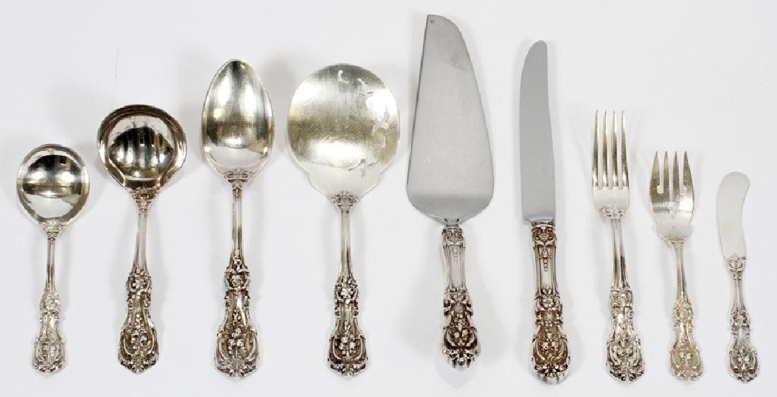 REED & BARTON 'FRANCIS I' STERLING SILVER FLATWARE