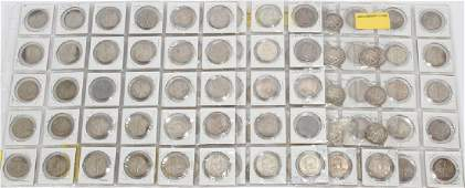 STERLING SILVER, HALF DOLLAR, COIN COLLECTION
