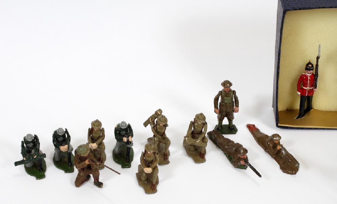 "COMET METAL PRODUCTS ""BRIGADIER"" LEAD TOY SOLDIERS - 4"