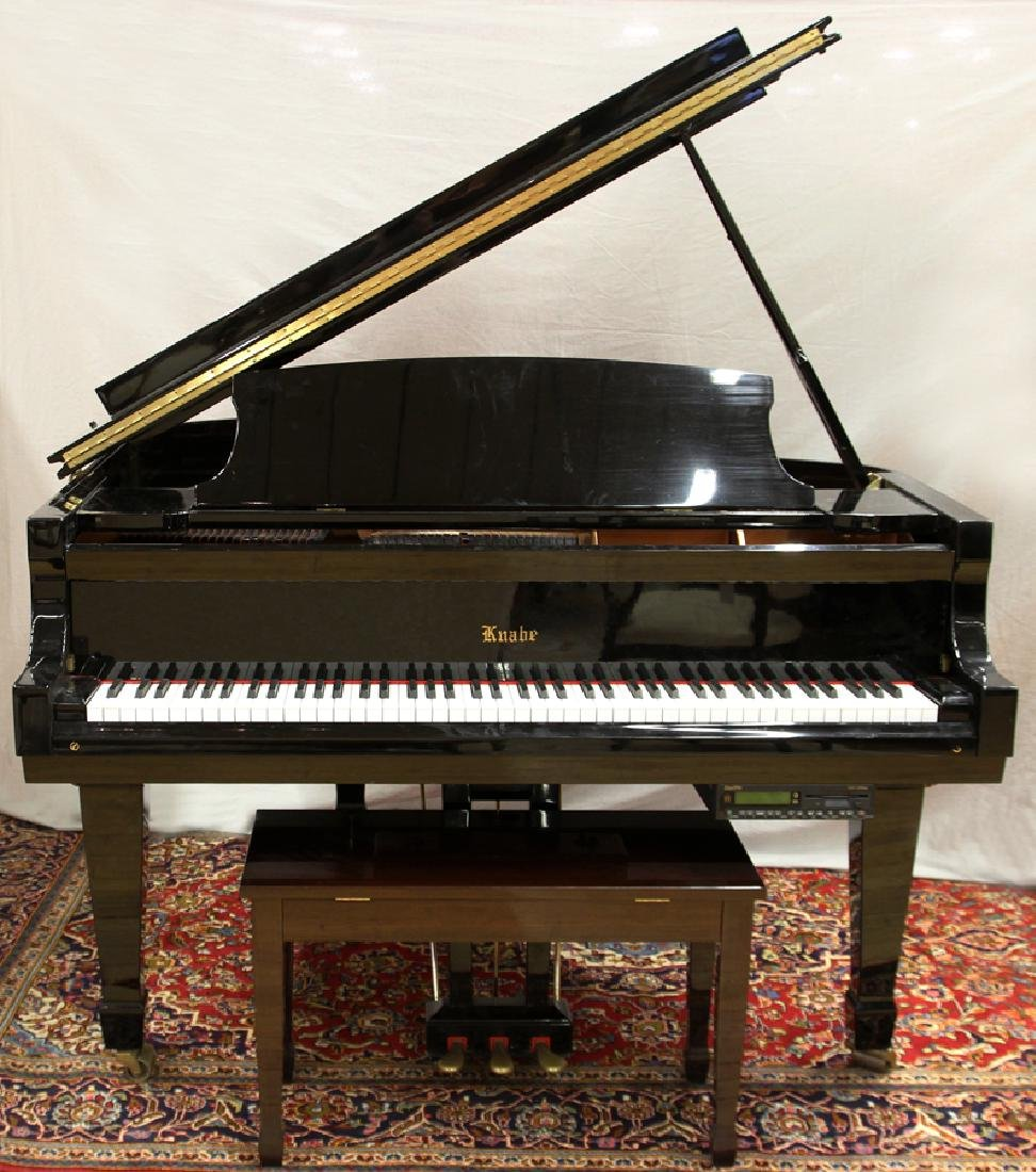 "KNABE GRAND PIANO CIRCA 2000, L 62"" G 109232"