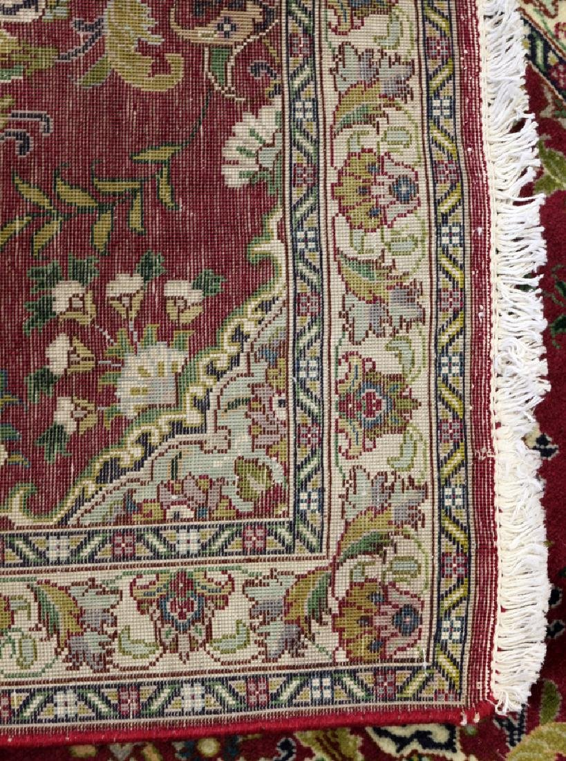 PERSIAN TABRIZ HANDWOVEN WOOL RUNNER - 4