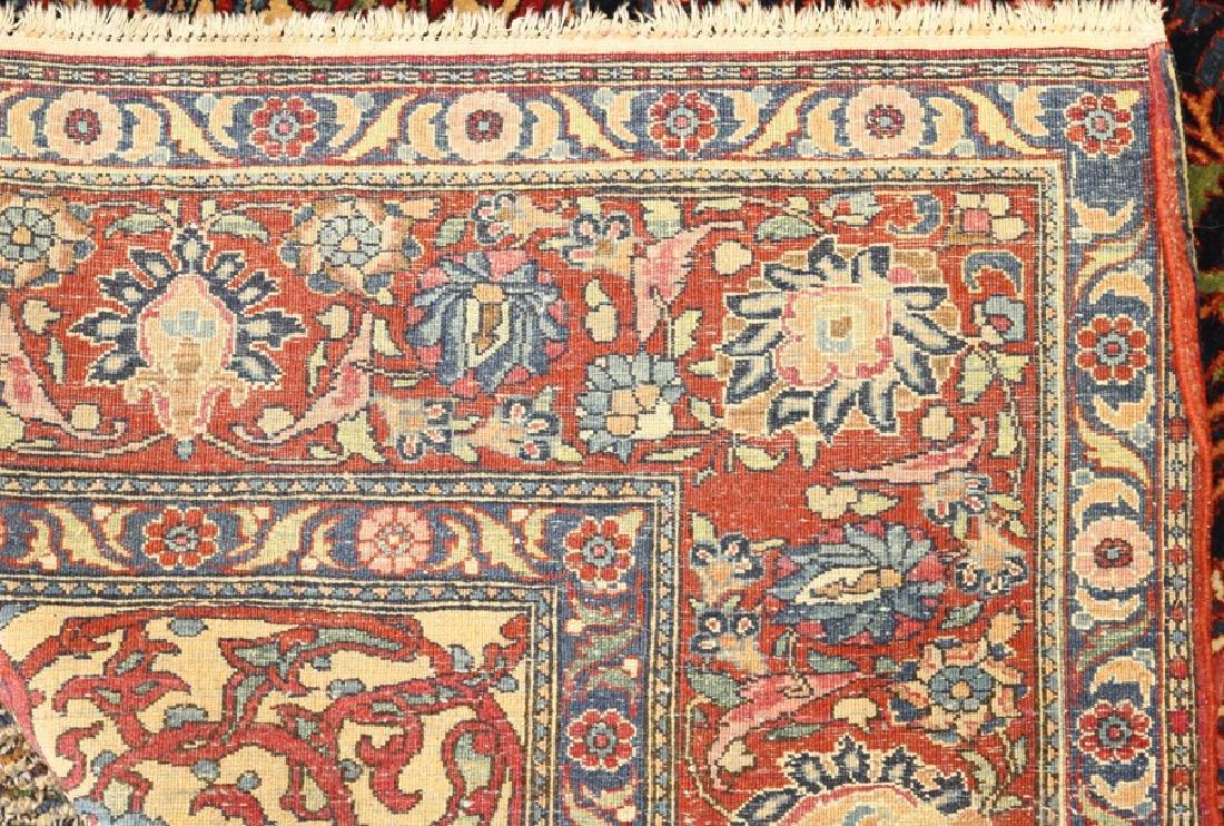 PERSIAN SAROUK HAND WOVEN WOOL PRAYER RUG - 4