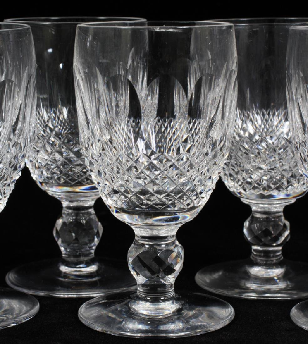 """WATERFORD 'COLLEEN' WINE GLASSES, 13 PCS, H 5"""" - 2"""