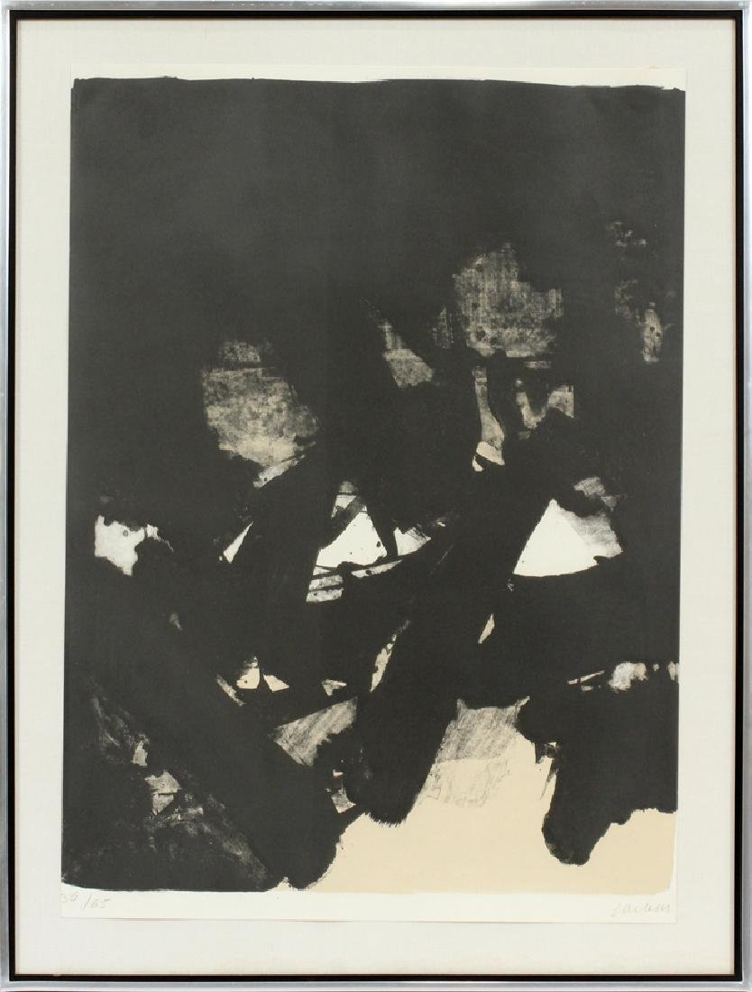 PIERRE SOULAGES, 1919, FRENCH LITHOGRAPH