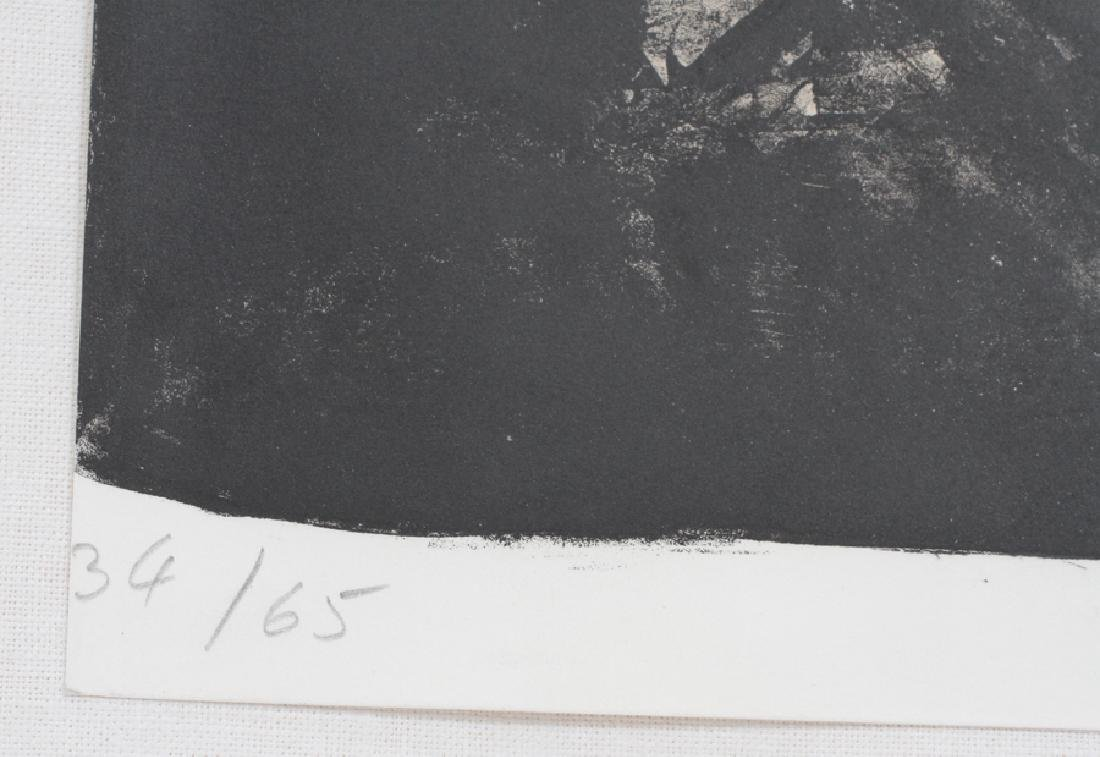 PIERRE SOULAGES, 1919, FRENCH LITHOGRAPH - 2