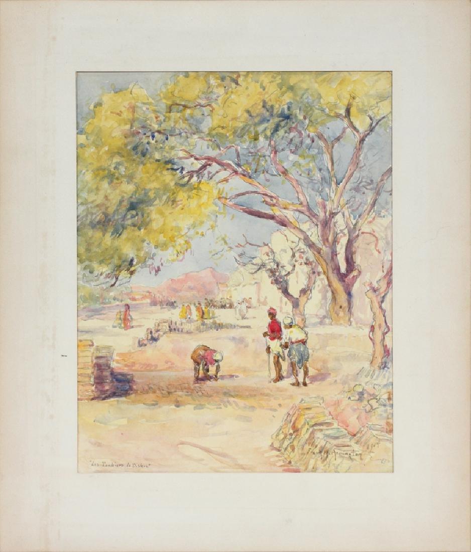 FRANKLIN ARMINGTON WATERCOLOR ON PAPER
