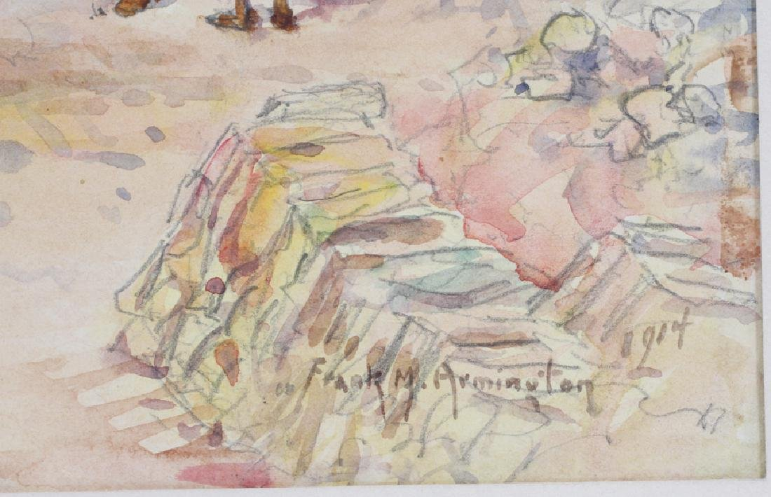 FRANKLIN ARMINGTON WATERCOLOR ON PAPER - 4