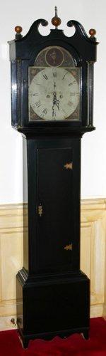 "0023: P&F HAMILTON, TALL CASE CLOCK, C.1810, H 80"""