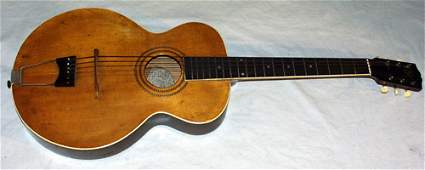 0411 GIBSON GUITAR CO KALAMAZOO MI ACOUSTIC WOOD GU