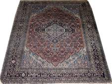 1210 HAMADAN PERSIAN ORIENTAL RUG CIRCA 1900 5 7 X