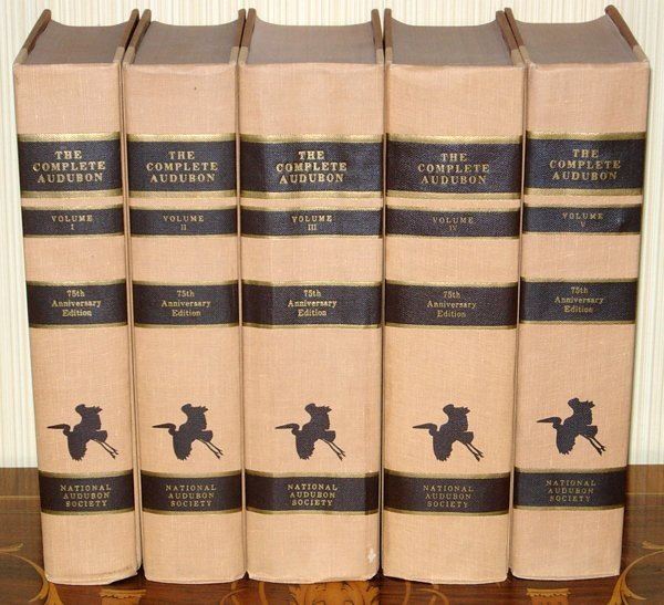 113024: J.AUDUBON 'COMPLETE AUDUBON BIRDS OF AMERICA'