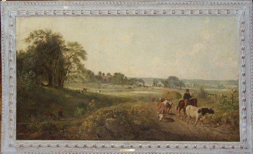 2001: DE WITT CLINTON BOUTELLE (AMERICAN 1817-1884), OI