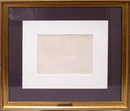 2004: MILTON C. AVERY (AMERICAN 1893-1965), INK DRAWING