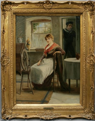 2006: WILLIAM POWELL FRITH RA [GB 1819 - 1909] OIL ON C