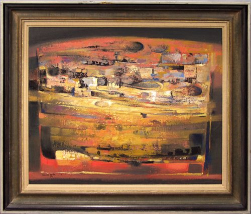 2016: MICHAEL AYRTON (AMERICAN 1921-1975), ACRYLIC ON C