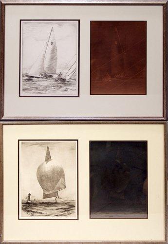 2019: YUNGRE EDWARD SODERBURG (AMER. 1896-1971), SAILBO
