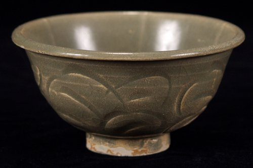 113012: CHINESE NORTHERN CELADON WARE BOWL, SUNG DYNAST