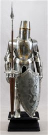MARTO, MADE IN SPAIN, JOUSTING SUIT OF ARMOR