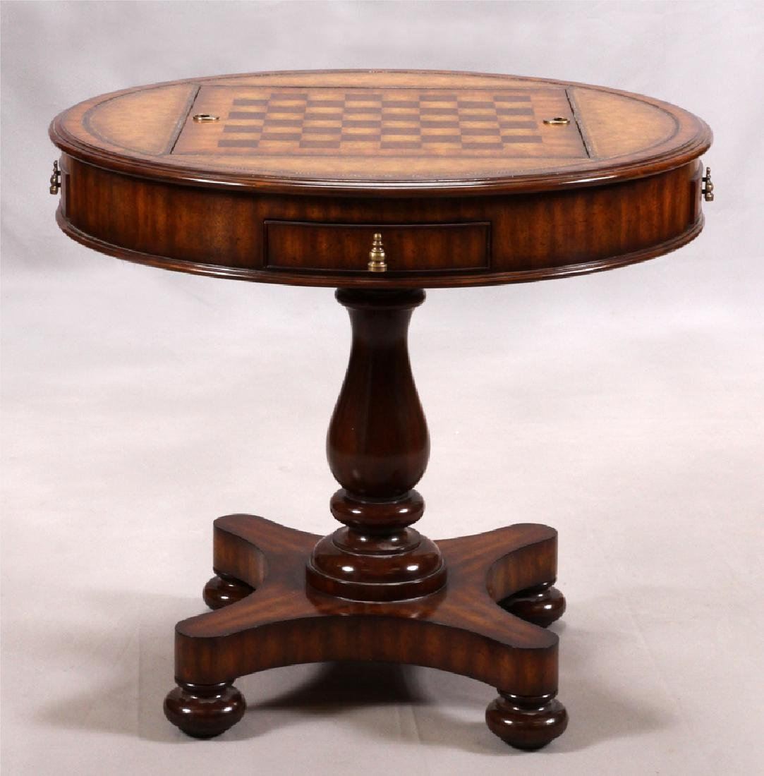 MAITLAND-SMITH REGENCY STYLE GAME TABLE