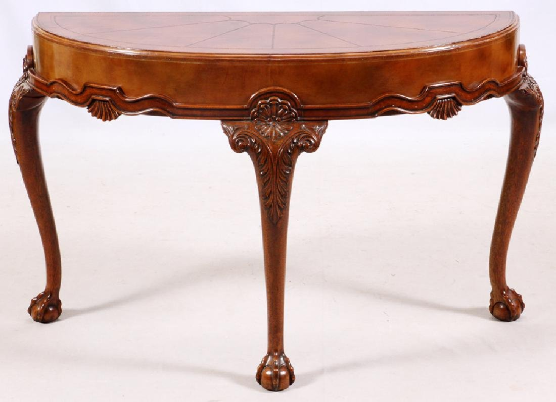 MAITLAND-SMITH CHIPPENDALE STYLE CONSOLE TABLE