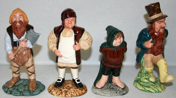 120509: ROYAL DOULTON GIMLI, BARLIMAN, BOMBADIL +1