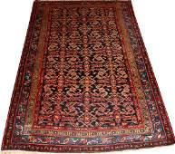 122181 PERSIAN HAMADAN WOOL RUG C1920 68x44
