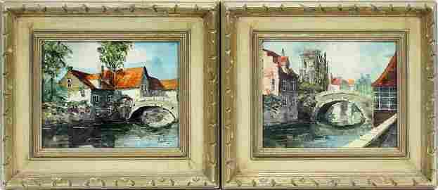 BERNARD LAARHOVEN, NETHERLANDS 1912, OIL ON CANVAS, 2