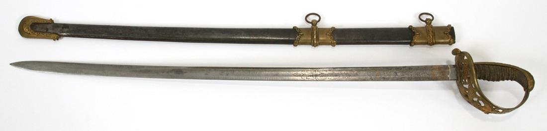SCHUYLER HARTLEY AND GRAHAM NEW YORK PRESENTATION SWORD