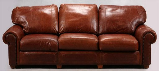 Stickley Craftsman Leather Couch Aug