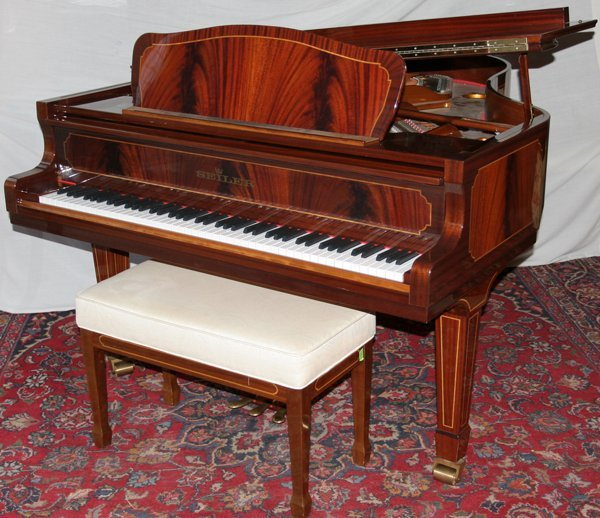 012016: SEILER MODEL 180 GRAND PIANO MFG BY KITZINGER