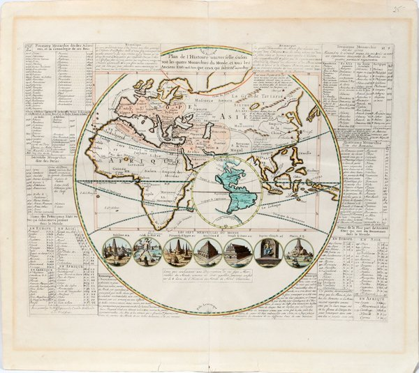 012478: FRENCH MAP OF ALEXANDER THE GREAT'S EMPIRE