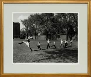"""ALFRED EISENSTAEDT PHOTOGRAPH, 1950 """"DRUM MAJOR"""""""