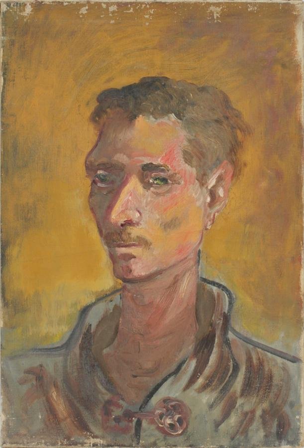 HAROLD COHN OIL ON CANVAS, 1938 PORTRAIT