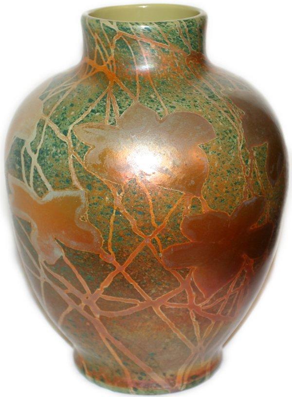 021012: TIFFANY STUDIOS FAVRILE CYPRIOTE GLASS VASE