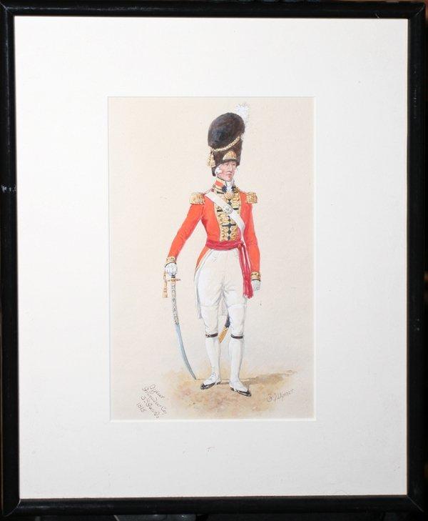 "030021: R. WYMER ""GRENADIER COY 3RD GUARDS 1815"""
