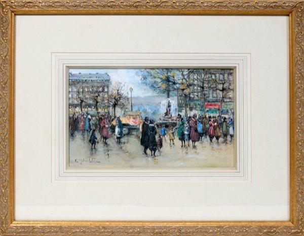 """032002: E. GALIEN-LALOUE """"PLACE DU THEATRE FRANCAIS"""""""