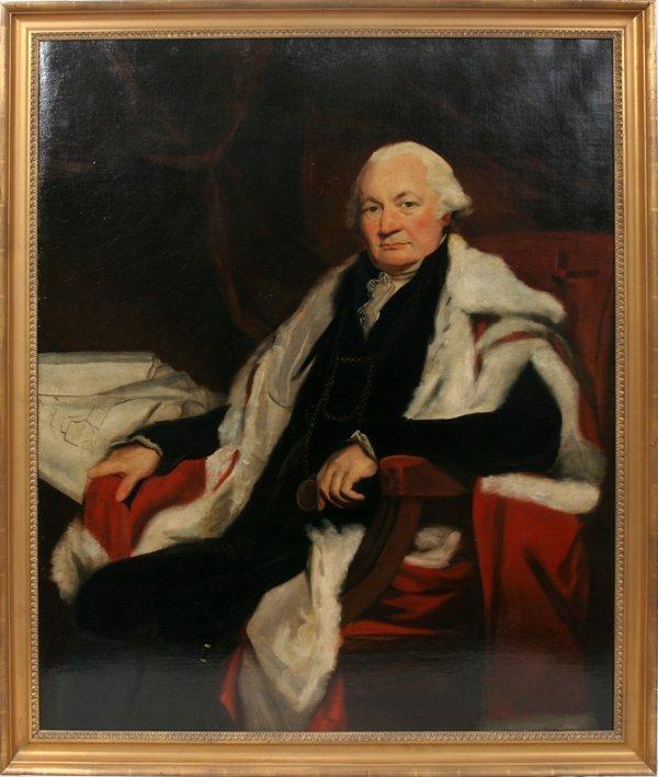 032021: SIR JOHN WATSON GORDON OIL SCOTTISH NOBLEMAN