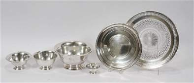 AMERICAN STERLING SILVER BOWLS DISHES & COMPOTES