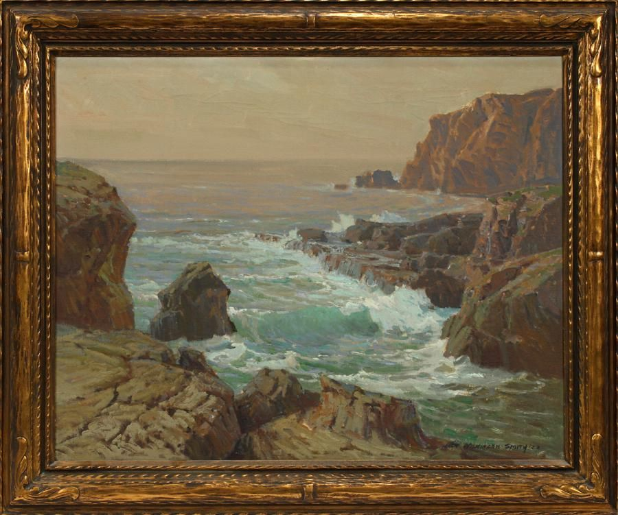 JACK WILKINSON SMITH OIL ON CANVAS, 1922